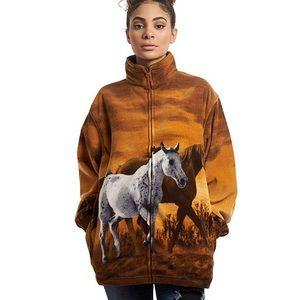 Wildkind | Horse Zip Up Fleece Jacket